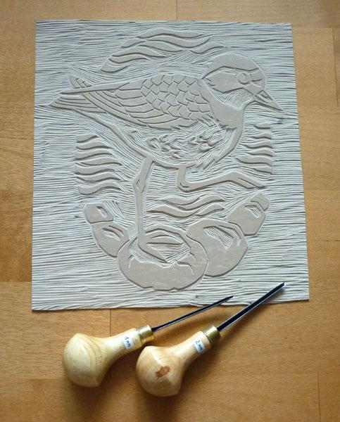 Ringed plover - work in progress