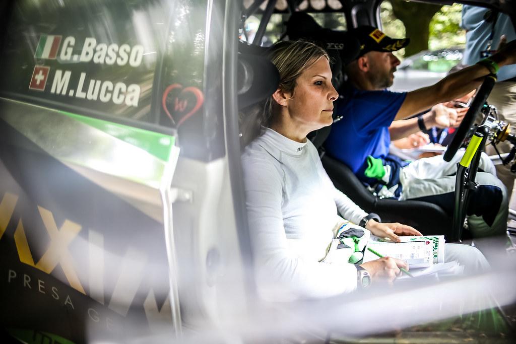 LUCCA Moira (ita), Skoda Fabia R5, portrait during the 2018 European Rally Championship ERC Rally di Roma Capitale,  from july 20 to 22 , at Fiuggi, Italia - Photo Thomas Fenetre / DPPI