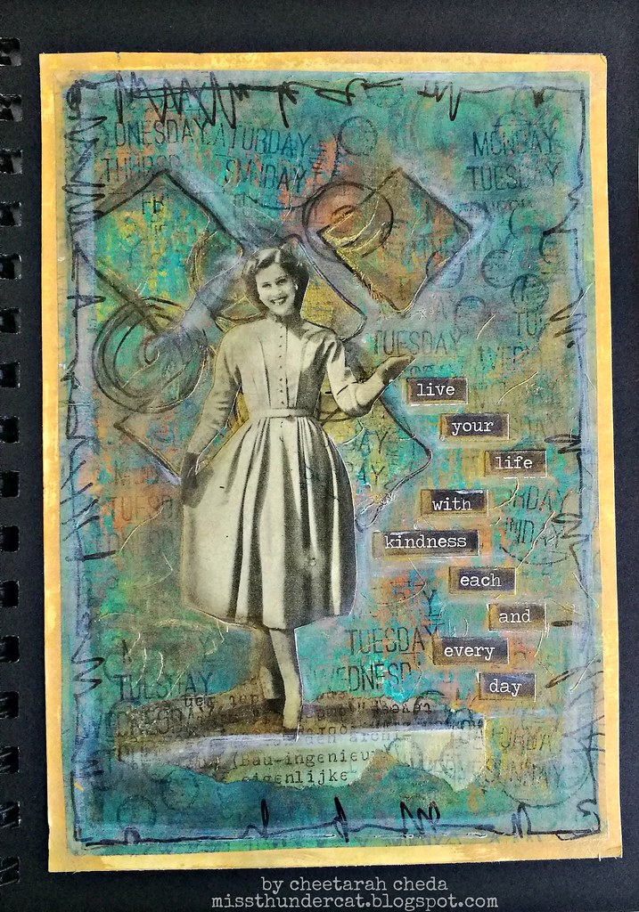 Art Journal live each day with kindness