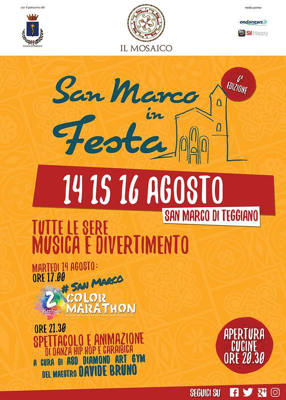 San Marco in festa 2018 locandina
