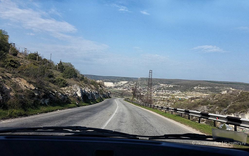фото дороги в Крыму