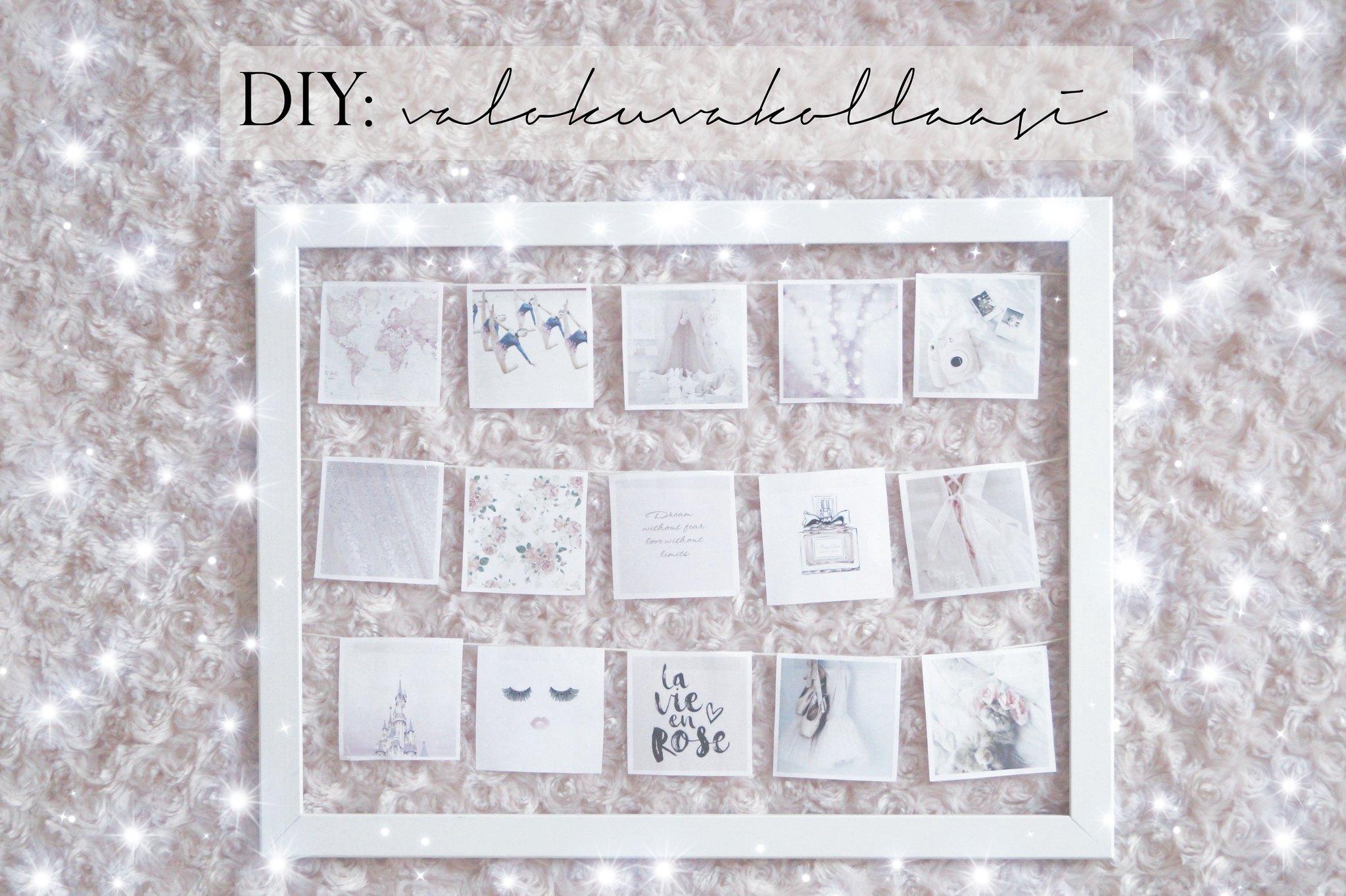DIY: valokuvakollaasi