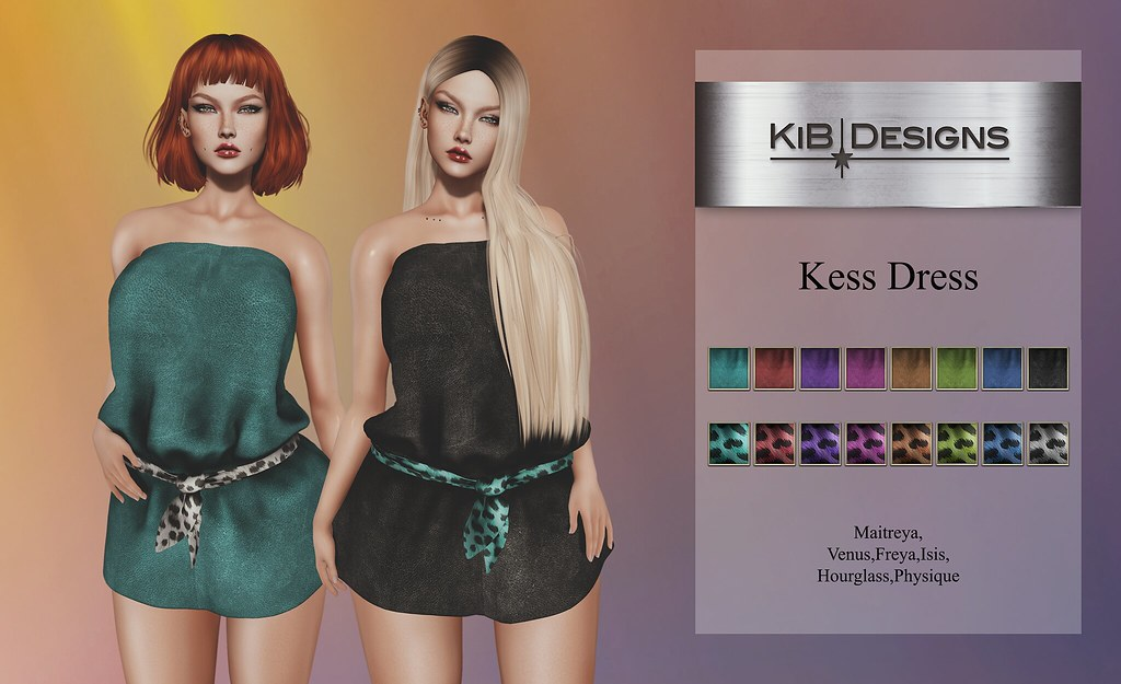 KiB Designs – Kess Dress @The Secret Affair