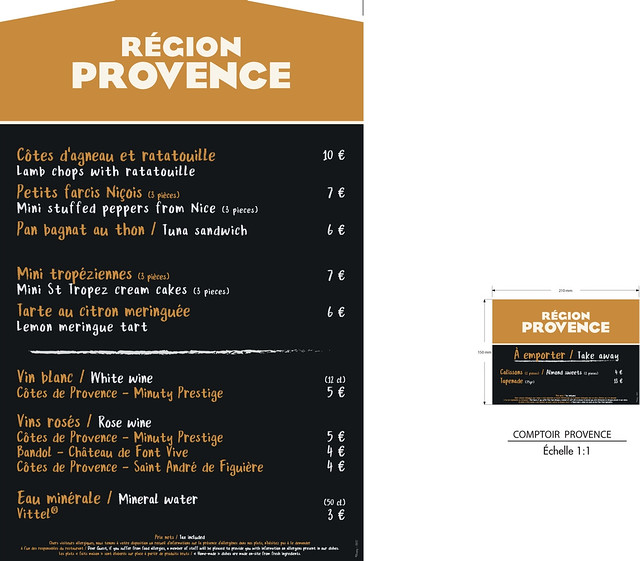 Menu Provence
