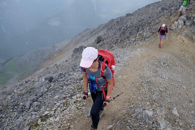 Scrambles - Mt. Bourgeau-5