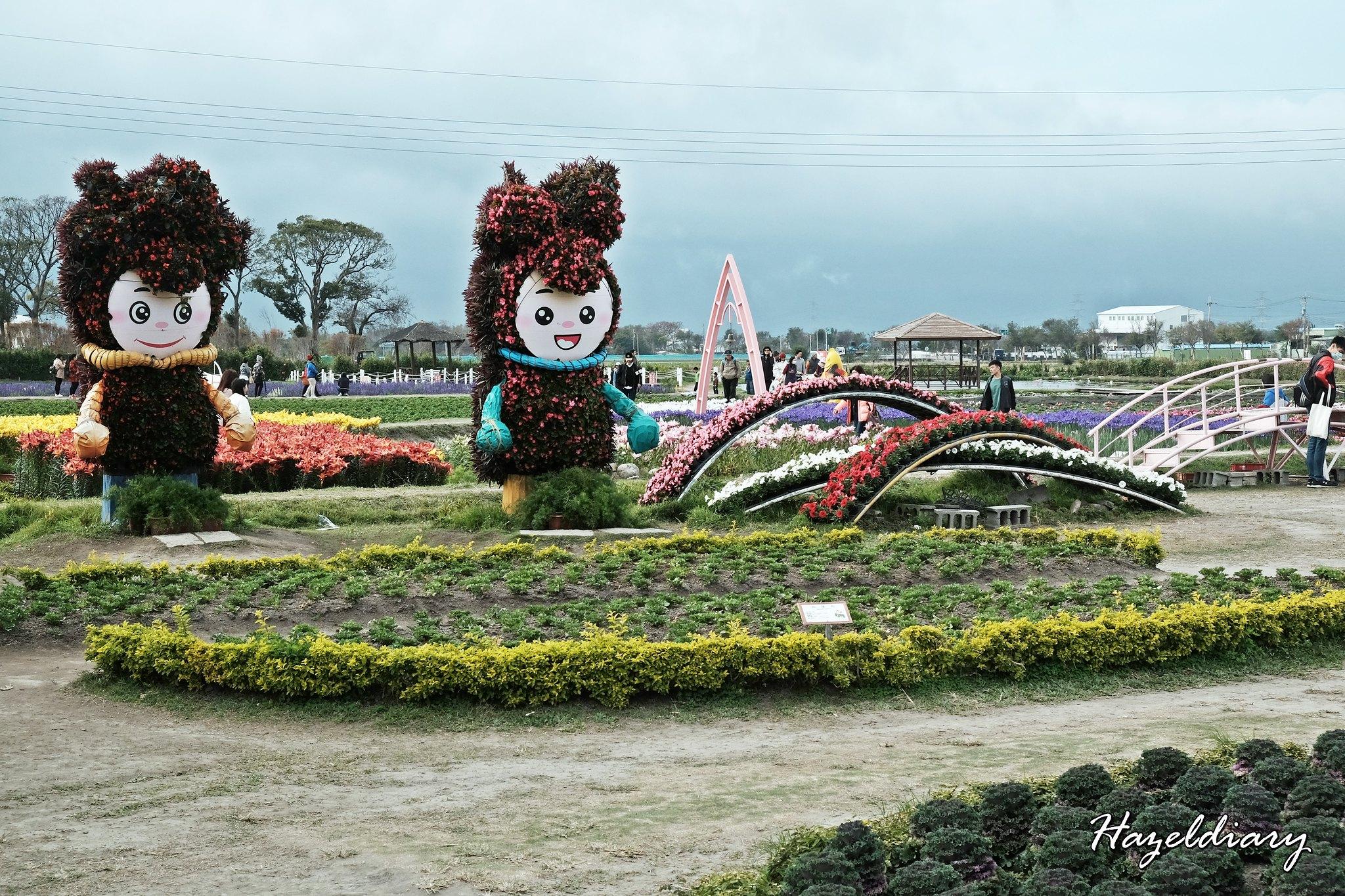 Zhong She Guan Guang Flower Market Taichung Taiwan-12