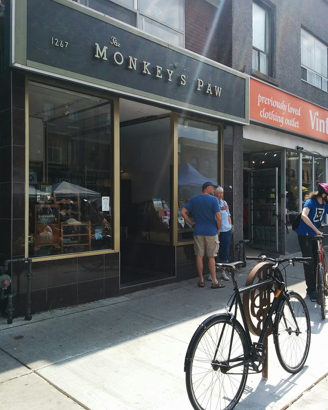 The Monkey's Paw (1) #toronto #bloordale #bloorstreetwest #bigonbloor #streetfestival #themonkeyspaw #bookstore #latergram