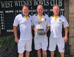 Men's triples winners 2018
