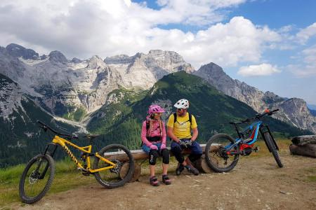 Bike SNOW tour: Madonna di Campiglio – údolí trailů a vodopádů