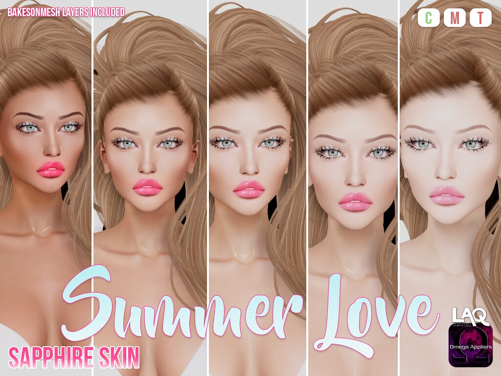 Sapphire Summer Love Skin - TeleportHub.com Live!