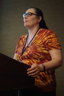 Mary Holstege at Balisage 2018