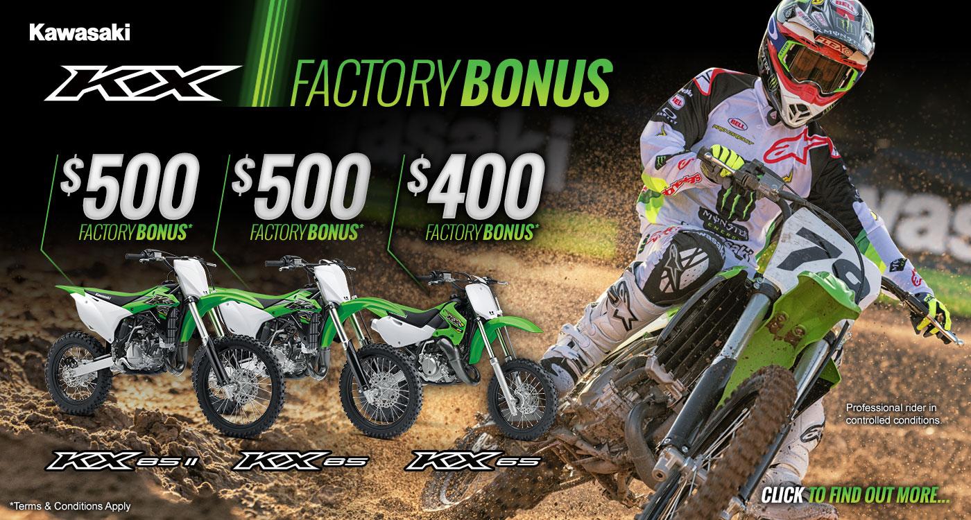 Factory KX Bonus