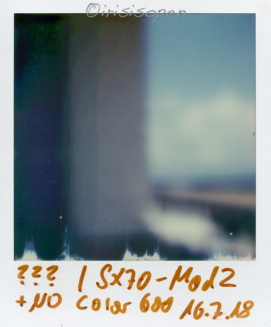 ??? # 2018008 # Polaroid SX70-Mod2 Impossible color 600 ND-Filter - 2018