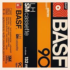 Cassettes: BASF LH SM Cassette C90