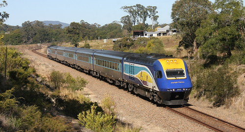 XPT WARDS RIVER 25th July 2018.