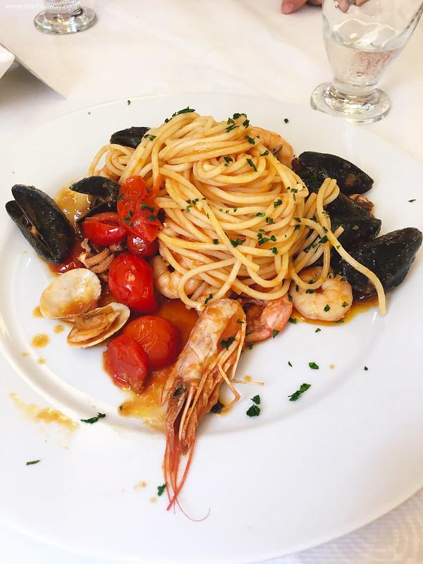 Spaghetti allo scoglio dell'Osteria al Duomo