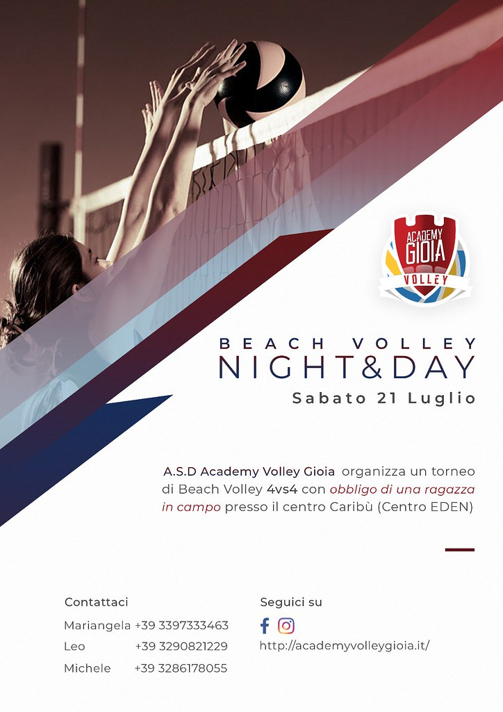 Night&Day Academy Volley Gioia