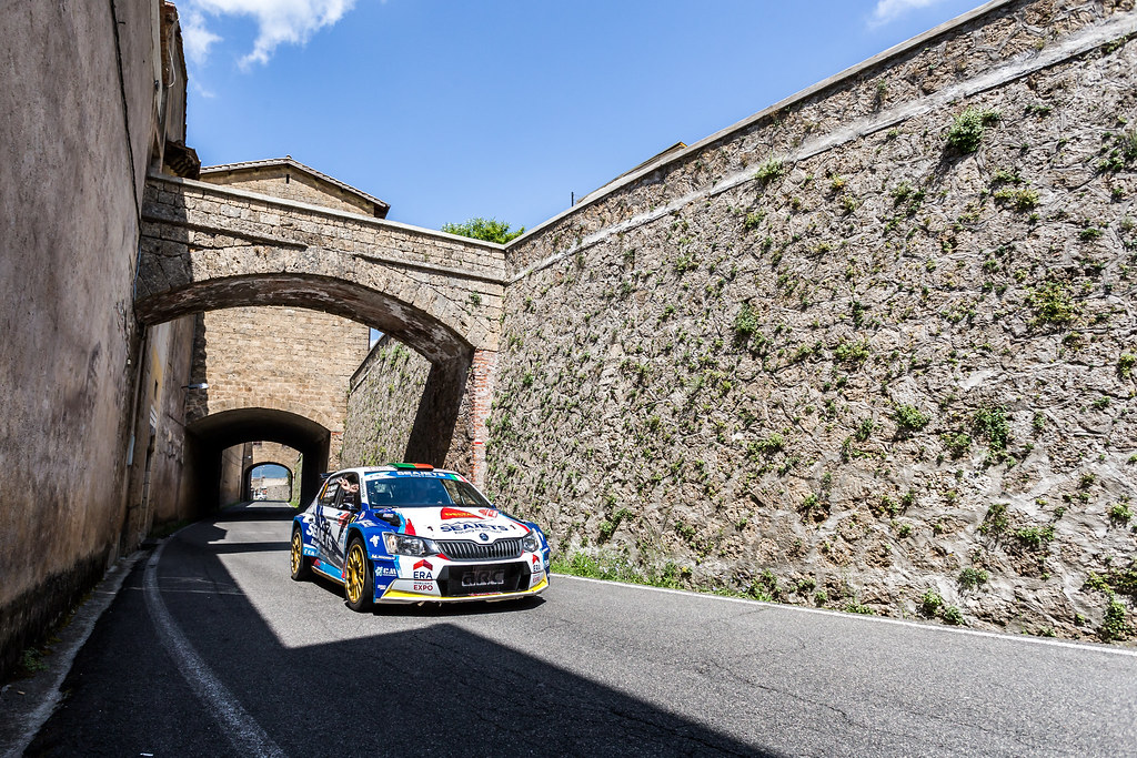 01 during the 2018 European Rally Championship ERC Rally di Roma Capitale,  from july 20 to 22 , at Fiuggi, Italia - Photo Thomas Fenetre / DPPI