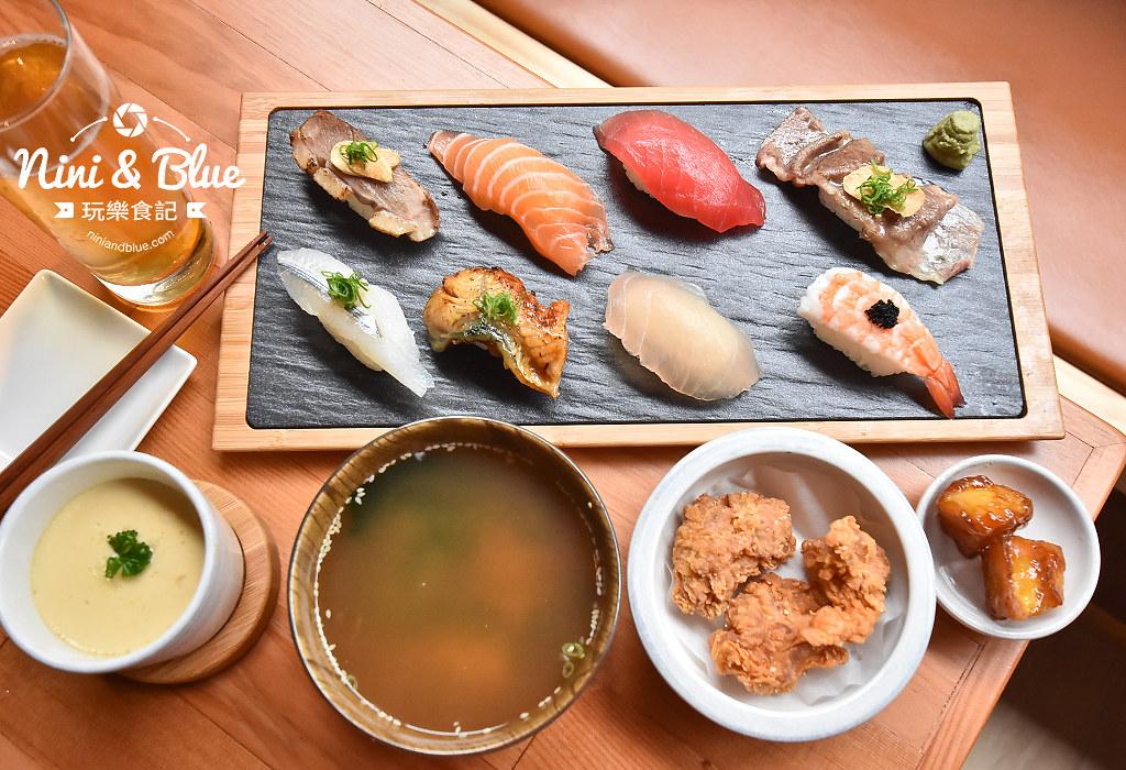 一笈壽司 台中 公益路 YIJI sushi 菜單17