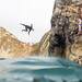 Cliff jumpers at Durdle Door by lomokev