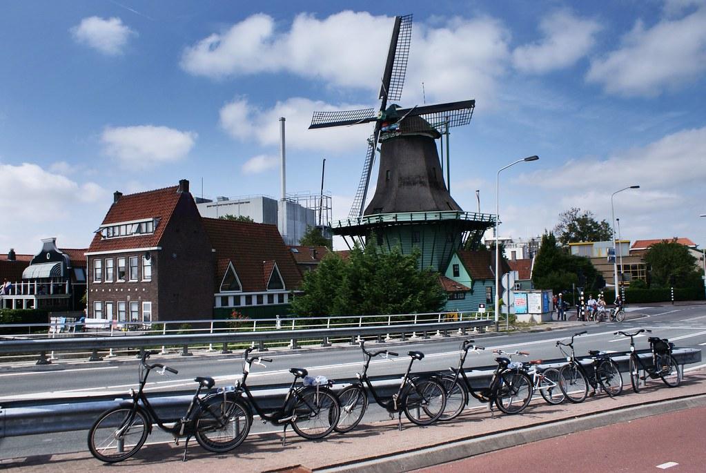 Moulin d'Amsterdam : Excursion au Zaanse Schans avec Amsterdam-velo.com