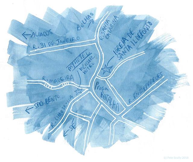 Porto Map Batalha