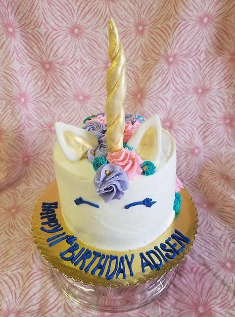 Unicorn Cake by The Sugar Fairy Sweet Shop