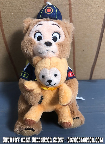 2018 Tokyo Disneyland Vacation Jamboree Oscar Plush - Country Bear Collector Show #164