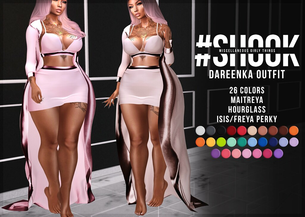 #SHOOK – Dareenka Outfit @AnyBody