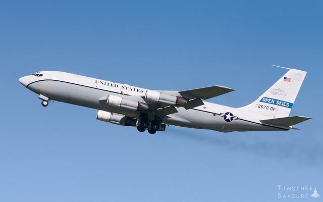 EVX   US Air Force Boeing OC-135B Open Skies