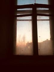 Заоконный закат