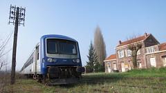 SNCF - Autorail EAD « Caravelle »  X 4790 et X 4795 en gare d'Arques