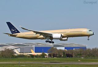 F-WZNN Airbus A350 Lufthansa