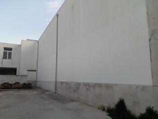 Cimitero Casamassima - L'area in cui sono previsti i nuovi loculi d'emergenza