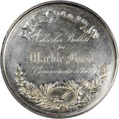 Bullitt US Agricultural Society Award silver medal reverse
