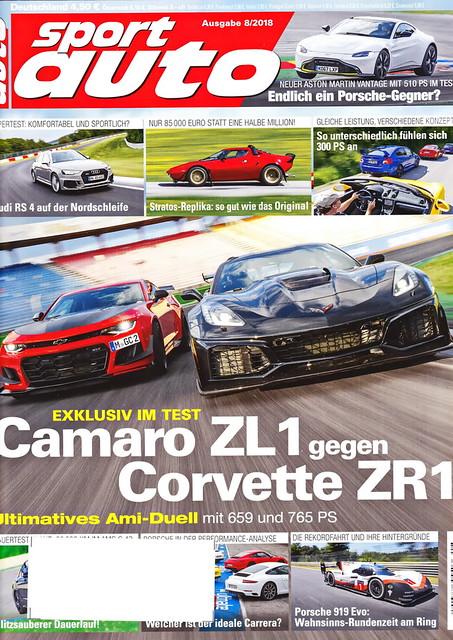sport auto - 2018-08 - cover