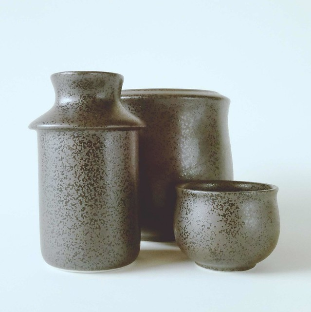 Sake warmer set
