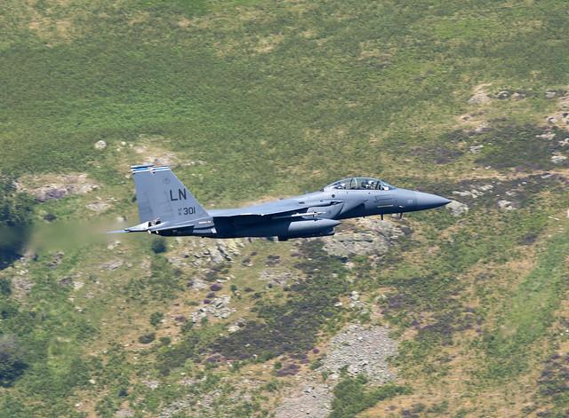 Boeing F-15E Strike Eagle, Nikon D800E, AF-S VR Nikkor 400mm f/2.8G ED