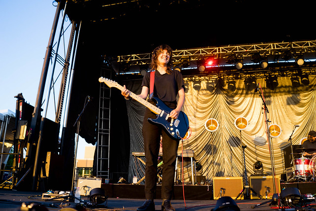 Courtney Barnett, Lucy Dacus and Julien Baker at Surly Festival Field Minneapolis