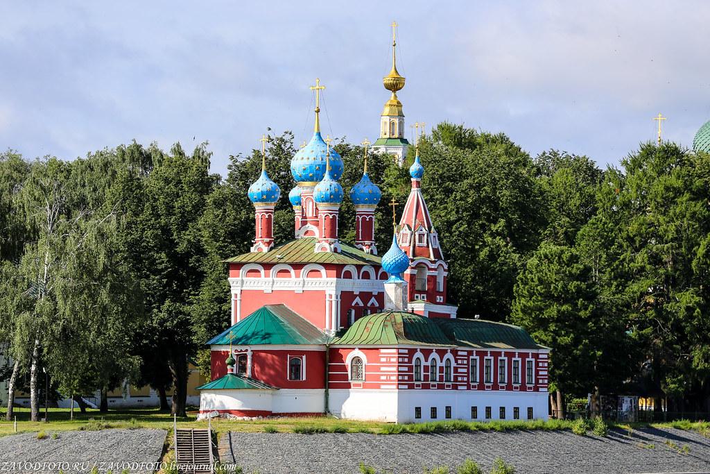 Круиз на теплоходе «Дмитрий Фурманов». Углич