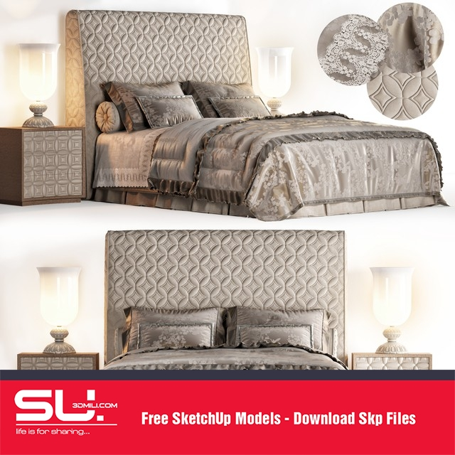 The Collection of Bed 3DSky Model Part 2 - 3DS Market | Sell & Buy