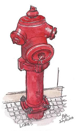 Lisbon hydrant 3 sm