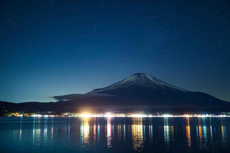 富士山|山中湖