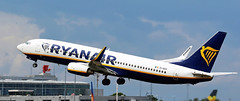 EI-DCO RYANAIR BOEING 737 NEWCASTLE