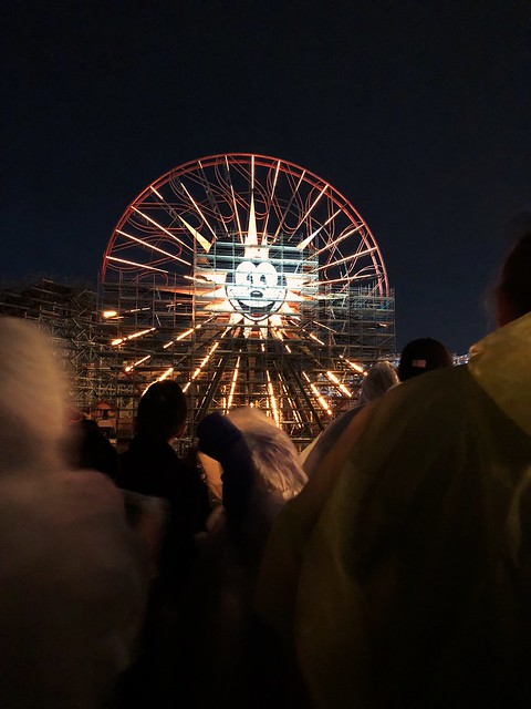 Waiting for the World of Color show to start. 🎡