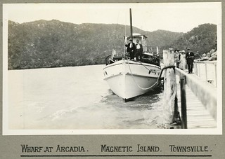 Arcadia Wharf on Magnetic Island off Townsville, 1924