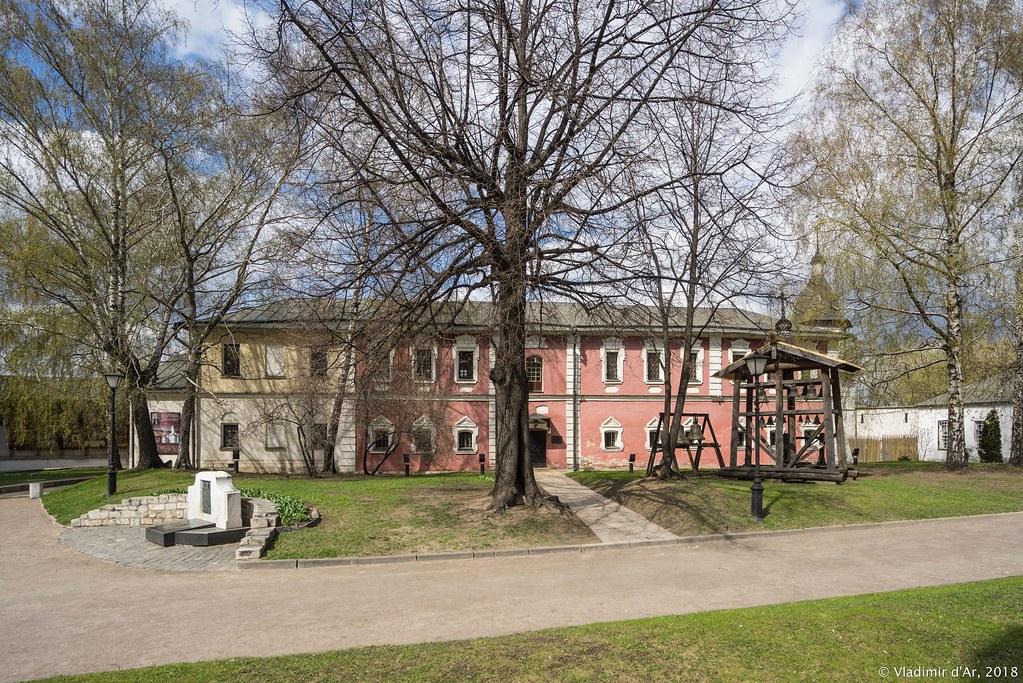 Спасо-Андроников монастырь. Братский корпус.