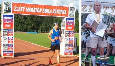 Vítězi Zátopkova zlatého týdne jsou Sedněv a Krcháková