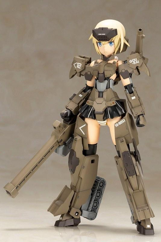 可動性、擴張性大幅升級!壽屋《Frame Arms Girl 骨裝機娘》 轟雷改 Ver.2
