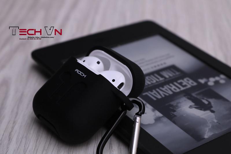 TechVn - Case airpods ROCK ốp bảo vệ airpods 10